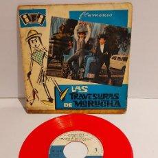 Discos de vinilo: LAS TRAVESURAS DE MORUCHA / EP - IFI-1962 / VINILO DE BUENA CALIDAD.**/***. Lote 229406570
