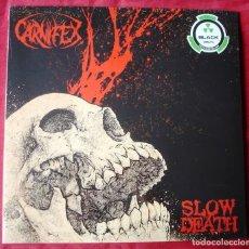 Discos de vinilo: CARNIFEX - SLOW DEATH. LP VINILO. NUEVO. PRECINTADO.. Lote 229422220