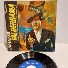 Discos de vinilo: JUANITO VALDERRAMA / LA HIJA DE JUAN SIMON / EP - DISCOPHON-1962 / MBC. ***/***. Lote 229426370