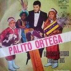Discos de vinilo: SENCILLO ARGENTINO Y NAVIDEÑO DE PALITO ORTEGA AÑO 1965. Lote 229430805