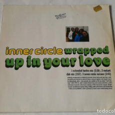 Dischi in vinile: INNER CIRCLE - WRAPPED UP IN YOUR LOVE - 1993. Lote 229437590