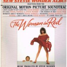 Disques de vinyle: THE WOMAN IN RED - ORIGINAL MOTION PICTURE SOUNDTRACK - LP 1984 - PORTADA DOBLE. Lote 229437925