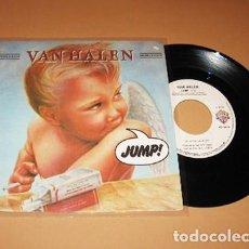 Discos de vinilo: VAN HALEN - JUMP! - SINGLE - 1983 - IMPORT. Lote 229450060