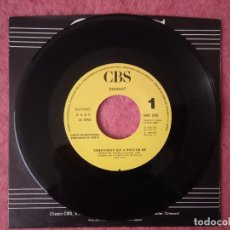 Discos de vinilo: SINGLE RADIANT - SOMETHING'S GOT A HOLD ON ME - CBS 2129 - SPAIN PRESS PROMO (-/NM). Lote 229450225