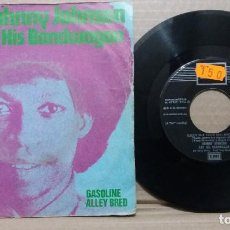 Discos de vinilo: JOHNNY JOHNSON & HIS BANDWAGON / SALLY PUT YOUR RED SHOES ON / SINGLE 7 INCH. Lote 229483685