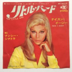Discos de vinilo: NANCY SINATRA ‎– THIS LITTLE BIRD / NICE 'N EASY JAPAN REPRISE RECORDS. Lote 229495445