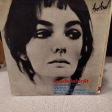 Discos de vinilo: MARIE LAFORET: LA TORRE DE BABEL, LA PLAYA, UN AMOR TERMINADO + 1 HISPAVOX 1964. Lote 229497705