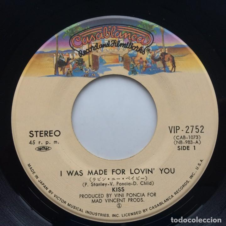 Discos de vinilo: Kiss – I Was Made For Lovin You / Hard Times Japan,1979 Casablanca - Foto 4 - 229497830