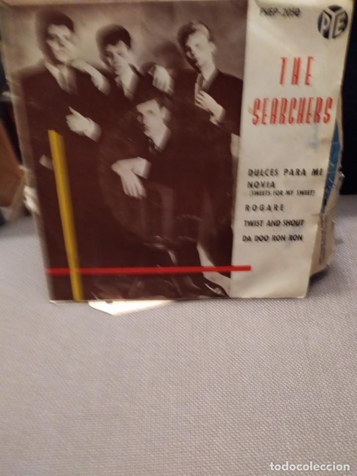 THE SEARCHERS :DULCES PARA MI NOVIA, ROGARE, TWIST AD SHOUT + 1 PYE RECORDS 1963 (Música - Discos de Vinilo - EPs - Pop - Rock Internacional de los 50 y 60)