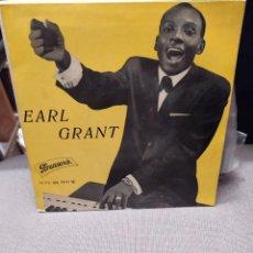 Discos de vinilo: EARL GRANT : CUANDO LA LUNA, YOU THRILL ME , EBB TIDE , NEXT TIME -ED ESPAÑA BRUNSWICK 10 713 EPB. Lote 229504145