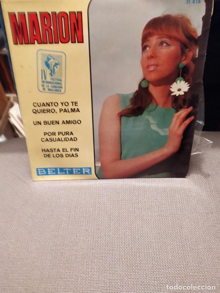 MARION CUANTO YO TE QUIERO , UN BUEN AMIGO + 2 IV FESTIVAL CANCION MALLORCA BELTER 1967 (Música - Discos de Vinilo - EPs - Otros Festivales de la Canción)