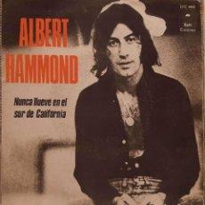 Dischi in vinile: ALBERT HAMMOND – NUNCA LLUEVE EN EL SUR DE CALIFORNIA. Lote 229566580
