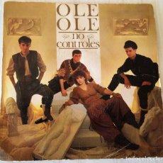 Dischi in vinile: OLE OLE - NO CONTROLES CBS - 1983. Lote 229567705