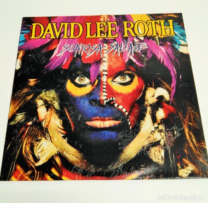 DAVID LEE ROTH – SONRISA SALVAJE (Música - Discos - LP Vinilo - Heavy - Metal)