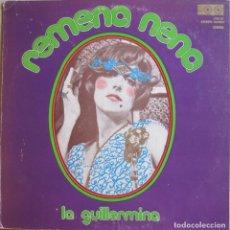 Disques de vinyle: GUILLERMINA MOTTA: REMENA NENA. AUTOGRAFIADO. Lote 229578780