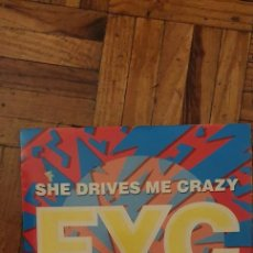 "Discos de vinil: FINE YOUNG CANNIBALS ‎– SHE DRIVES ME CRAZY LABEL: LONDON RECORDS ‎– 886 361-7 FORMAT: VINYL, 7"", 45. Lote 229580130"