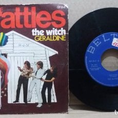 Dischi in vinile: THE RATTLES / THE WITCH / SINGLE 7 INCH. Lote 229580935
