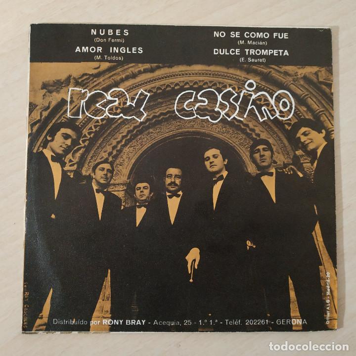 Discos de vinilo: REAL CASINO - NUBES / AMOR INGLES / NO SE COMO FUE / DULCE TROMPETA SINGLE PROMO BERTA, 1970 EX - Foto 2 - 229593755