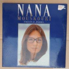 Discos de vinilo: DOBLE LP NANA MOUSKOURI - CONCIERTO DE ARANJUEZ - PORTADA DESPLEGABLE. Lote 229610880