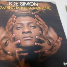Disques de vinyle: JOE SIMON - DROWNING IN THE SEA OF LOVE. Lote 229614540