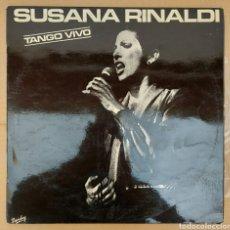 Discos de vinilo: LP SUSANA RINALDI - TANGO VIVO. Lote 229620590