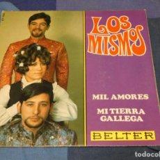 Disques de vinyle: EXPROBS2 DISCO 7 PULGADAS ESTADO VINILO BUENO LOS MISMOS MIL AMORES. Lote 229650850