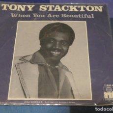 Discos de vinilo: EXPROBS2 DISCO 7 PULGADAS ESTADO VINILO CORRECTO TONY STANTON WHEN YOU ARE BEAUTIFUL. Lote 229651130