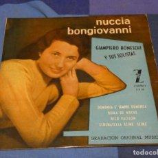 Discos de vinilo: EXPROBS2 DISCO 7 PULGADAS ESTADO VINILO CORRECTO NUNCIA-GIANPIERO BONGIOVANNI. Lote 229651265