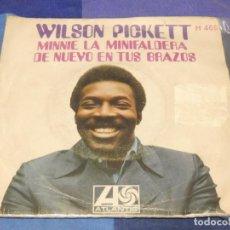 Discos de vinilo: EXPROBS2 DISCO 7 PULGADAS ESTADO VINILO BASTANTE TROTE WILSON PICKETT MINNIE LA MINIFALDERA. Lote 229651495