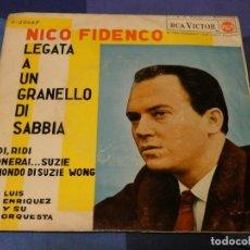 Discos de vinilo: EXPROBS2 DISCO 7 PULGADAS ESTADO VINILO BASTANTE USO NICO FIDENCO LEGATA A UN GRANELLO. Lote 229653200