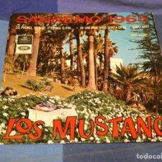 Discos de vinilo: EXPROBS2 DISCO 7 PULGADAS ESTADO VINILO ORRECTO LOS MUSTANG SANREMO 1965 SE PIANGI SE RIDI. Lote 229653815
