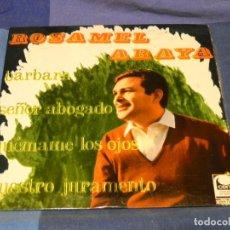 Discos de vinilo: EXPROBS2 DISCO 7 PULGADAS ESTADO VINILO ORRECTO ROSAMEL ARAYA BARBARA. Lote 229653970
