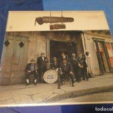 Discos de vinilo: EXPRO LP JAZZ 1977 BUEN ESTAOD DE VNIILO PRESERVATIO HALL JAZZ BAND NEW ORLEANS FOR CONCERT SALE. Lote 229665905