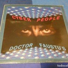 Discos de vinilo: EXPRO MAXI SINGLE 12 PULGADAS SYNTH POP CYBER PEOPLE DOCTOR FAUSTUS BUEN ESTADO. Lote 229667035