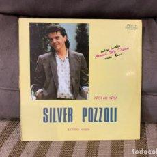 Discos de vinilo: SILVER POZZOLI – STEP BY STEP. DISCO VINILO. ESTADO VG+/VG. 1985.. Lote 229671170