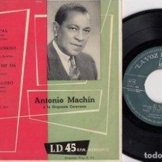 Disques de vinyle: ANTONIO MACHIN Y LA ORQUESTA CARAVANA - MI RIVAL - EP DE VINILO. Lote 229689605