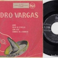 Disques de vinyle: PEDRO VARGAS - ADIOS - EP DE VINILO. Lote 229689760