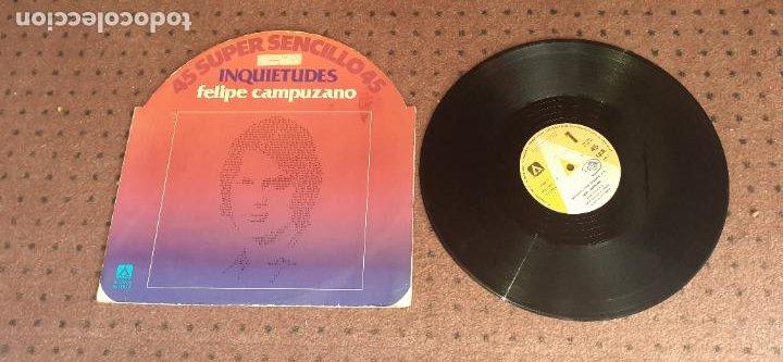 FELIPE CAMPUZANO - INQUIETUDES - MAXI - SPAIN - AMBAR - IBL - (Música - Discos de Vinilo - Maxi Singles - Flamenco, Canción española y Cuplé)