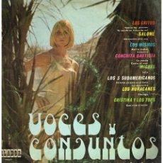 Discos de vinilo: VOCES Y CONJUNTOS - LP 1969. Lote 229699770