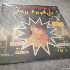Discos de vinilo: EXPRO MAXI SINGLE 12 1984 FUNKY EVELYN THOMAS HIGH ENERGY VINILO EN BUEN ESTADO. Lote 229702025