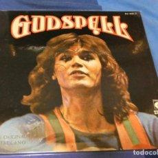 Discos de vinilo: EXPRO LP GODSPELL ESPAÑA 1974 NOVOLA BASTANTE BUEN ESTADO. Lote 229703315