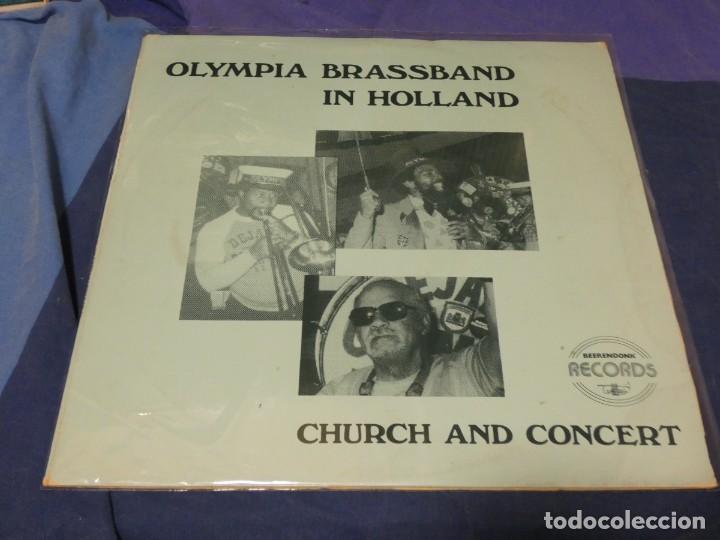 BOXH67A LP JAZZ EUROPEO AÑOS 70-80 GRAN ESTADO OLYMPIA BRASSBAND IN HOLLAND CHURCH AND CONCERT (Música - Discos - LP Vinilo - Jazz, Jazz-Rock, Blues y R&B)