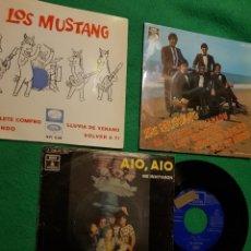 Discos de vinilo: LOS MUSTANG: LOTE DE 3 EPS BEATLES OPORTUNIDAD COLECCIONISTAS. Lote 229721685
