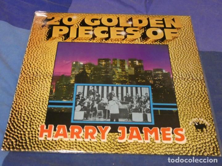 BOXH67B LP JAZZ EUROPEO AÑOS 70-80 GRAN ESTADO 20 GOLDEN PIECES OF HARRY JAMES (Música - Discos - LP Vinilo - Jazz, Jazz-Rock, Blues y R&B)