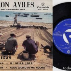 Dischi in vinile: ORFEON DE AVILES - HABANERAS - MI BELLA LOLA - EP DE VINILO. Lote 229725665