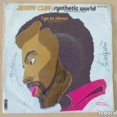 Discos de vinilo: JIMMY CLIFF - SYNTHETIC WORLD (SG) 1971. Lote 229728325