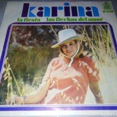 Dischi in vinile: KARINA-LA FIESTA. Lote 229742650