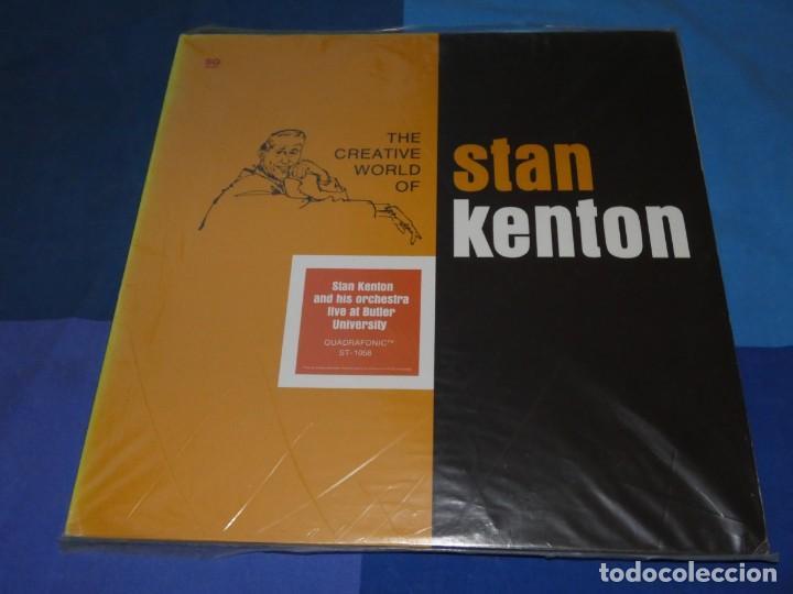 BOXH67D DOBLE LP JAZZ EUROPEO AÑOS 70-80 GRAN ESTADO STAN KENTON LIVE AT BUTLER UNIVERSITY (Música - Discos - LP Vinilo - Jazz, Jazz-Rock, Blues y R&B)