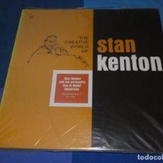 Discos de vinilo: BOXH67D DOBLE LP JAZZ EUROPEO AÑOS 70-80 GRAN ESTADO STAN KENTON LIVE AT BUTLER UNIVERSITY. Lote 229742980
