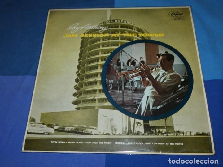 BOXH67D LP JAZZ EUROPEO AÑOS 70-80 GRAN ESTADO RAY ANTHONY JAM SESSION AT THE CAPITOL TOWER (Música - Discos - LP Vinilo - Jazz, Jazz-Rock, Blues y R&B)